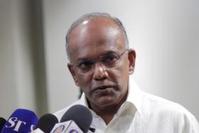 Law and Home Affairs Minister K. Shanmugam.