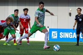 Matheus Moresche scores brace on debut for Geylang International