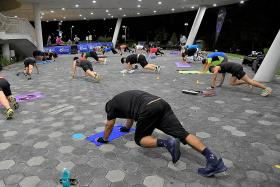 New fitness programme and more locations for NSmen who fail IPPT