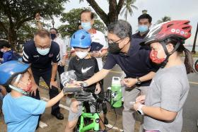 Ground-up road safety efforts vital as more take up cycling: Minister