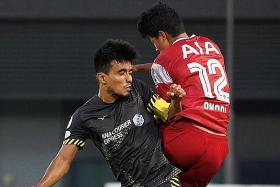 Captain Yasir Hanapi stars in Tampines' 3-1 win over Tanjong Pagar