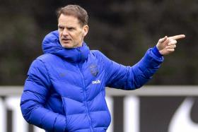 Frank de Boer's Holland side kick off their 2022 World Cup qualifying campaign against Turkey on Wednesday.