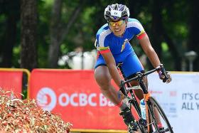 Competitive cycling returns for first time since 2019 with OCBC Cycle