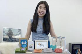 Through Social Gifting, Ms Valen Tan curates workshops where volunteers teach people how to craft. The items are then sold to aid beneficiaries.