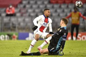 Mbappe relishes test against world's best goalkeeper in Bayern's Neuer