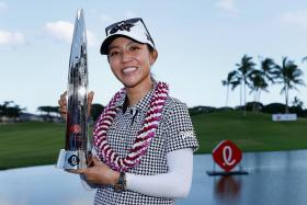 Former world No. 1 golfer Lydia Ko ends title drought in style