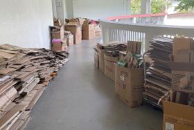Minister urges tolerance for woman hoarding cardboard