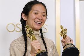 Nomadland wins big as director Chloe Zhao makes history at Oscars