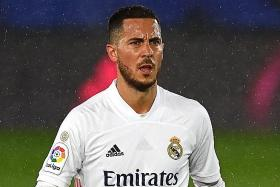 Footage of Hazard laughing with Chelsea players riles Real Madrid fans