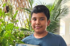 Boy, 11, receives Community Lifesaver Award for helping elderly man