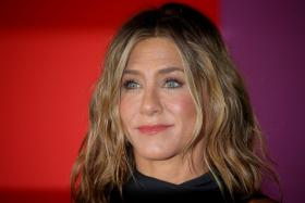 """Jennifer Aniston arrives to the global premiere for Apple's """"The Morning Show"""" at the Lincoln Center in the Manhattan borough of New York City, U.S., October 28, 2019."""