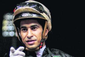 Jockey Nooresh Juglall rode 217 winners in his five years in Singapore.