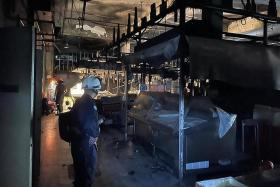 Wet market in Sembawang closed after fire breaks out