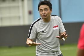 Tatsuma Yoshida's (above) 26-man squad for the Lions' World Cup qualifiers features three uncapped players – Idraki Adnan, Saifullah Akbar and Ilhan Fandi.