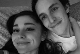Ariana Grande (left) and Dalton Gomez
