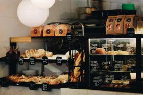 Lucali BYGB is now offering its famous pizza pies around the clock. (Above) Nassim Hill Bakery Bistro Bar offers 24-hour delivery of fresh bread and pastries from Tuesday to Sunday.
