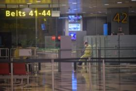Terminal 3 cluster began at arrival gates, baggage claim hall: CAG