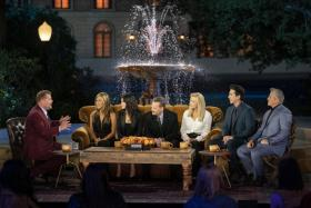 The Friends reunion special was streamed in China with some cameos removed.
