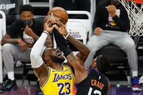 LeBron James realistic as LA Lakers are pushed to brink of elimination