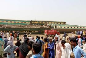 At least 36 killed in Pakistan train crash, over 100 injured