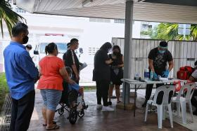 Calm and quick testing operation under way for Punggol residents