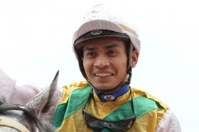 Shafiq Rizuan is all excited that he has got back his licence to ride at Kranji.
