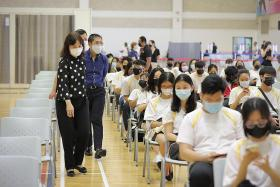 Jabs start for ITE students at MOE vaccination centres