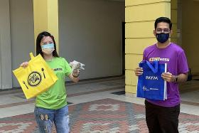 I Belanja You initiative by youth volunteers helps hawkers, riders