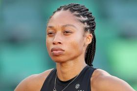 Fifth Olympics and first as a mum for Allyson Felix, 35