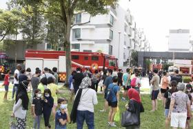 Around 100 condo residents evacuated after small chemical spill