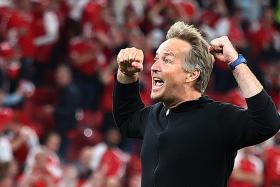 Euro 2020: Coach Hjulmand hails players for creating Danish fairy tale