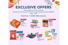 These offers are available only at FairPrice Limbang.