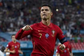 Cristiano Ronaldo has now levelled Ali Daei's record of 109 international goals.