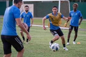 Tampines Rovers relishing tough debut in AFC Champions League