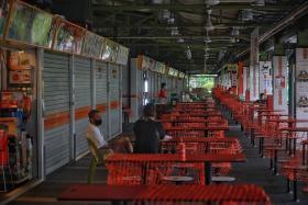 Fewer than 10 stalls reopen at Bukit Merah market