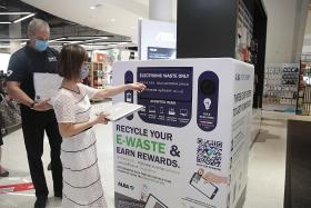 More than 300 bins placed islandwide to collect e-waste