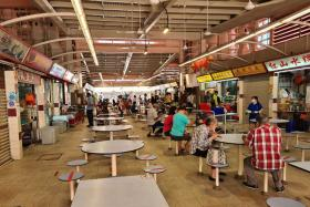 Hawkers at Bukit Merah View, Redhill feeling the 'cluster' pinch