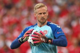 Kasper Schmeichel will be hoping to emulate his father Peter's European Championship achievement.