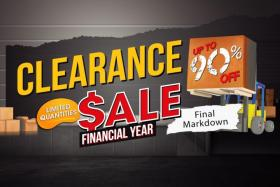 Gain City Financial Year Clearance Sale