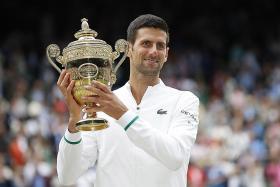 Djokovic makes it 20-20-20 with Wimbledon win