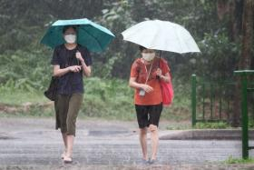 Risk of flash floods in several areas after heavy rain, warns PUB