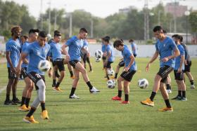Tampines player tests positive upon return from Uzbekistan