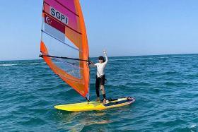 Olympics: Mind over matter for Singapore windsurfer Amanda Ng