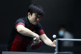 Chinese opponents await Singapore's paddlers in Tokyo