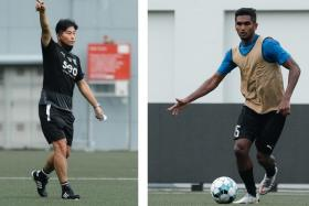 Asian Champions League-winning coach Kim Do-hoon (left) and national captain Hariss Harun are the latest additions to the Lion City Sailors' star-studded squad.