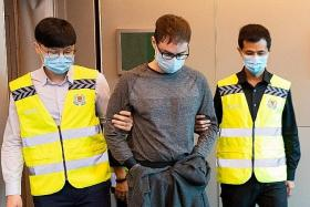 Canadian who robbed Standard Chartered Bank spared the cane