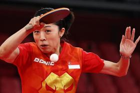 Olympics: Singapore paddler Yu Mengyu is 'getting into the zone'