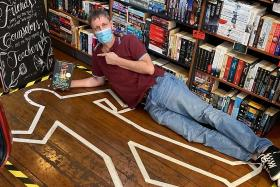 Neil Humphreys' new crime book makes it to top of best-selling list