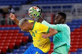 Champions Brazil held by Ivory Coast