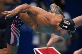 Relay Dressel rehearsal goes swimmingly for Caeleb
